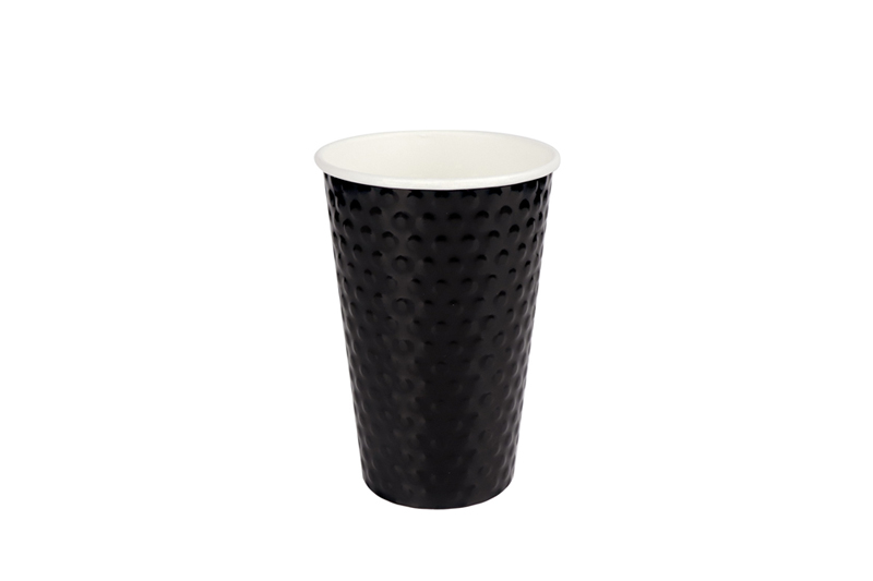 Diamond wall paper cup